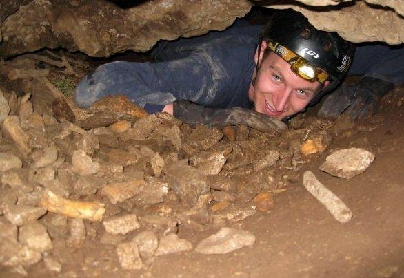 Nate in cave 2