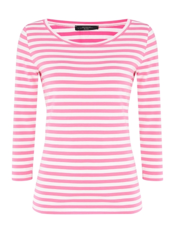weekend-maxmara-pink-three-quarter-sleeve-striped-top-product-1-16657021-0-697239914-normal