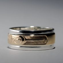 Hummingbird Ring by Hollie Bear Bartlett