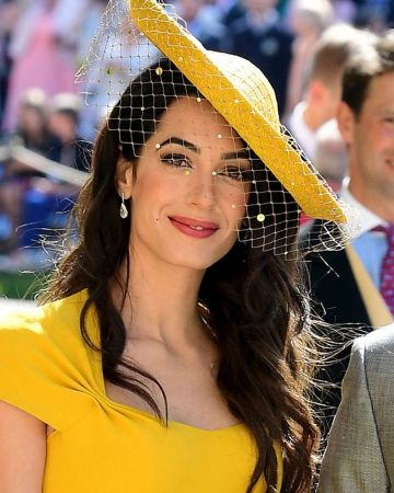 Amal Clooney - royal wedding