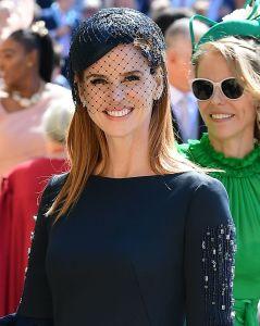Sarah Rafferty - royal wedding