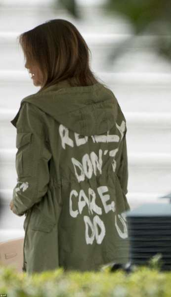 Melania Trump jacket