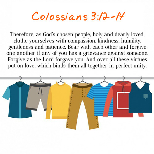 Colossians 3;12-14