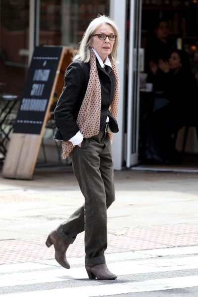 Diane Keaton out and about, London, UK - 16 Jun 2016