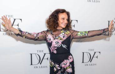 Mandatory Credit: Photo by MJ Photos/WWD/REX/Shutterstock (9628831d) Diane von Furstenberg 9th Annual DVF Awards, Arrivals, New York, USA - 13 Apr 2018