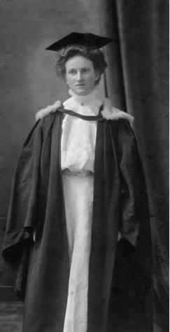 Gran - Eliza Clara Walker - BA Dalhousie University 1909