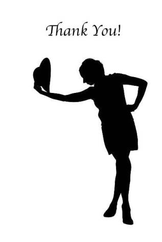 Photo of a woman silhouette taking off a hat. Taken in Riga, Latvia.