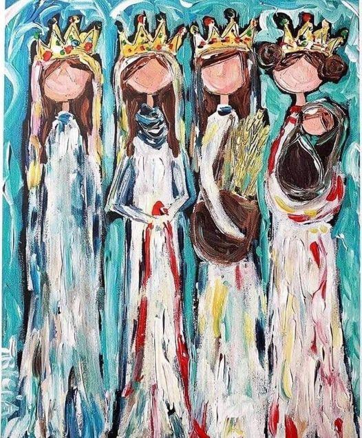 The Four - Tricia Robinson art