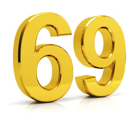 148512088-gold-number-69-isolated-on-white-background